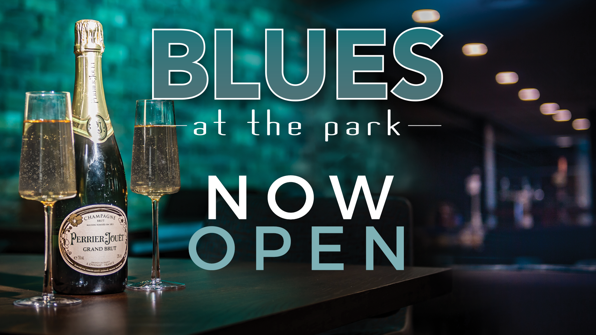 Blues at the Park Now Open