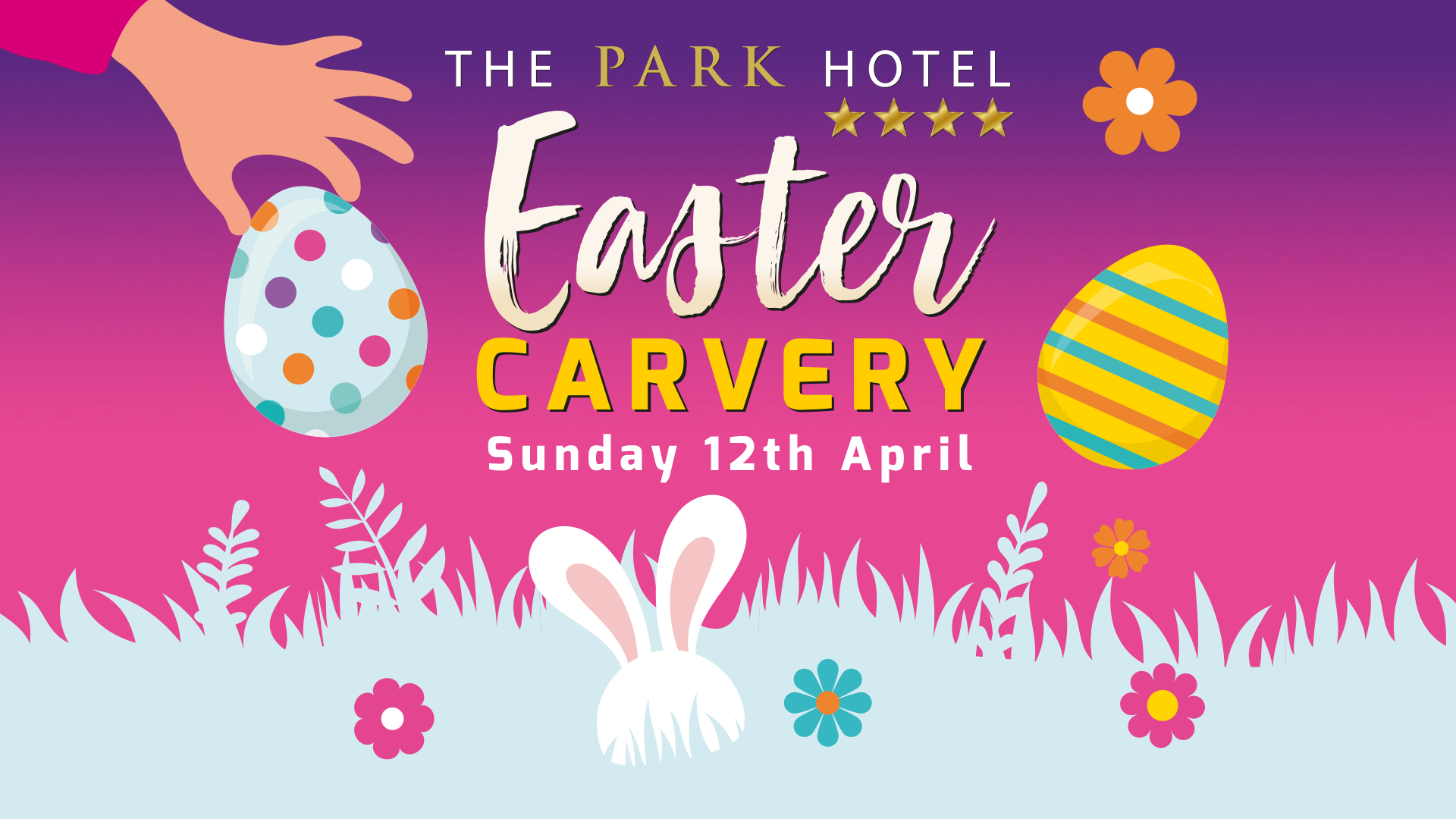 Easter Sunday Carvery At The Park!