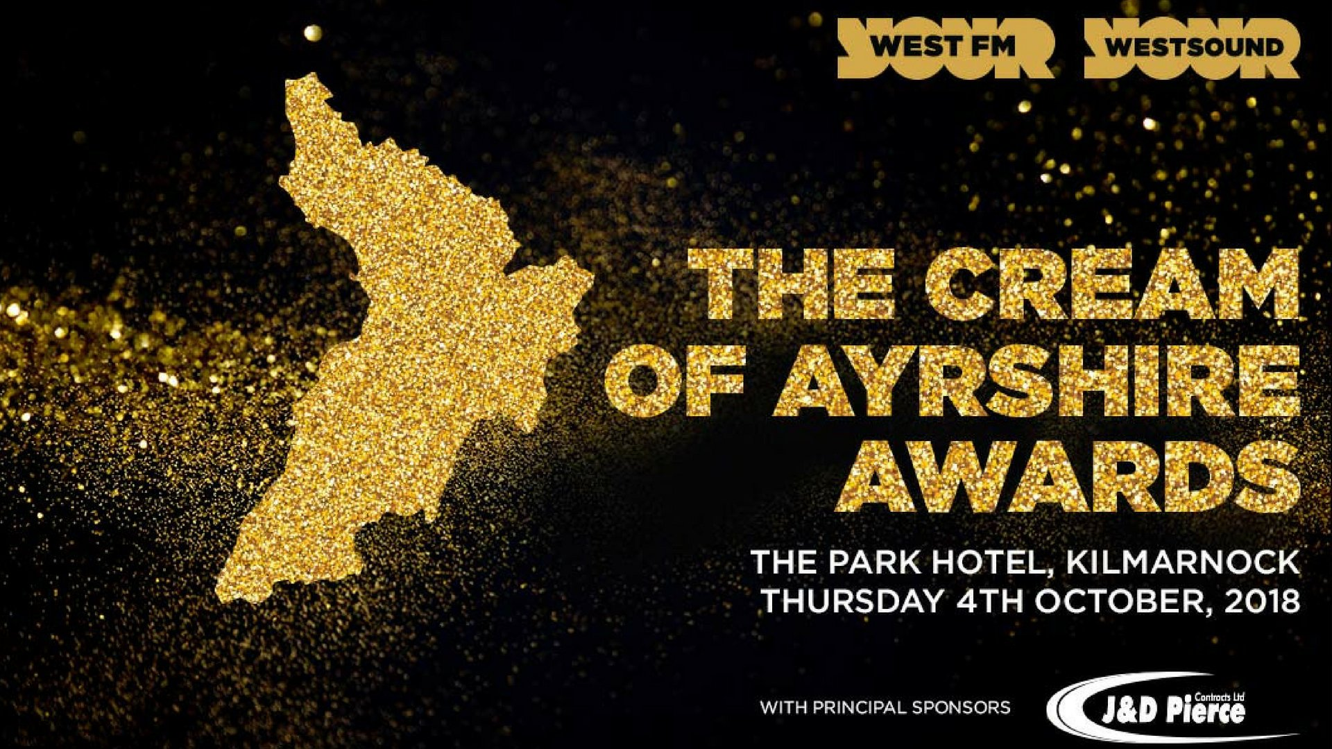 The Cream Of Ayrshire Awards Night - Thursday 4th October