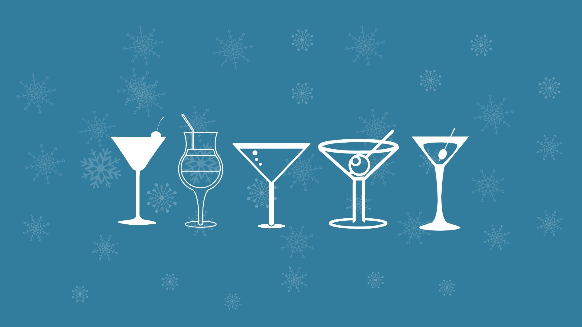 Christmas Cocktails Available Now!