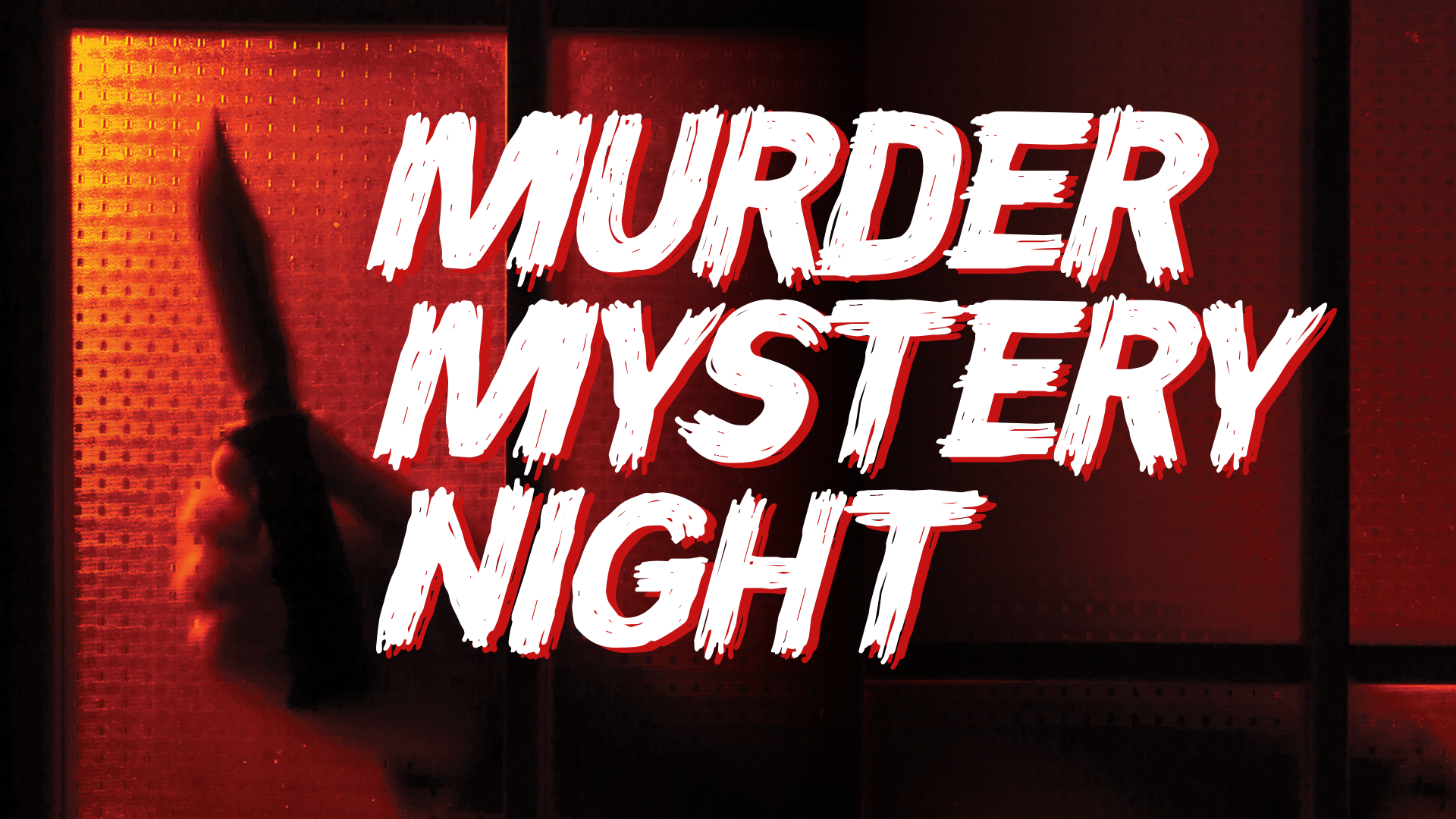 Murder Mystery Night - Friday 8th November - 7.30pm