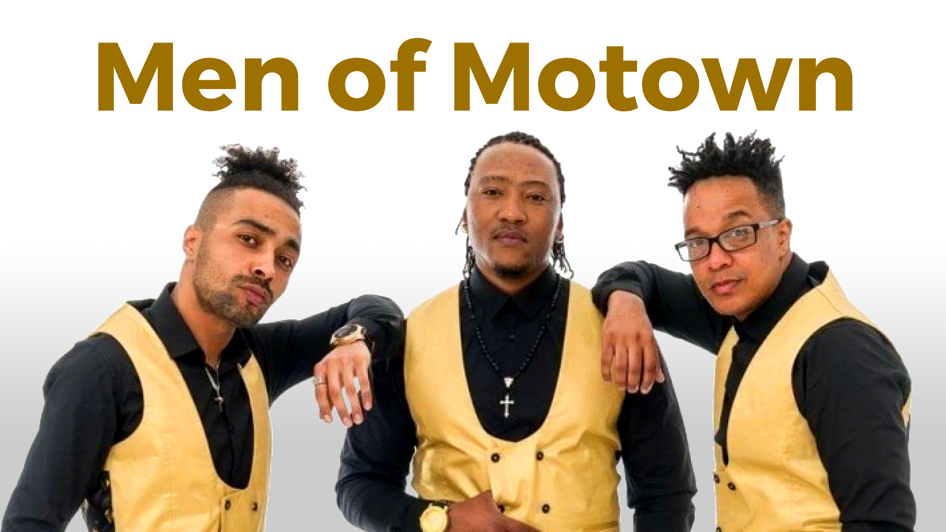 Men of Motown tribute night - Selling Out Fast - Fri 7th Sept