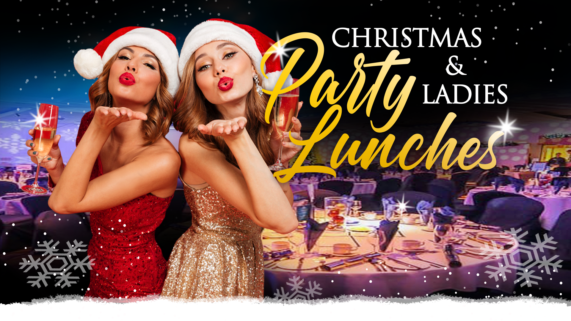 Christmas Party Nights and Party Lunches Selling Out Fast!